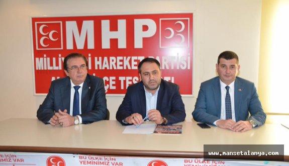 MHP Alanya'da Hüseyin Yıldız'ı hazırlıyor? İthal aday istenmiyor...!