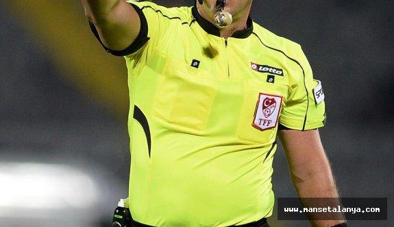Alanya-Antalya maçının hakemi