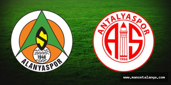 Alanya-Antalyaspor maçına doğru