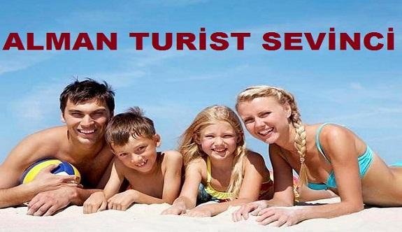 Alanya'da Alman turist sevinci. İşte rakam