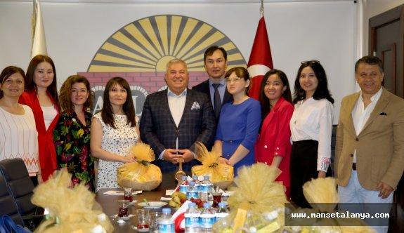 ALTSO, Kazaklı gazetecilere ağırladı