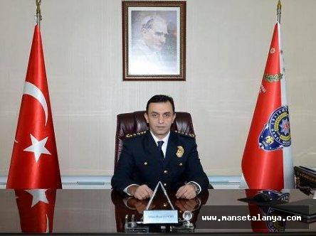 Antalya'nın yeni emniyet müdürü