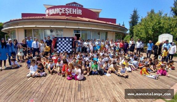 Bahçeşehir Alanya'da satranç şenliği