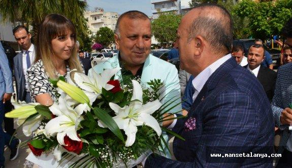 Çavuşoğlu, Manavgatlıların talebine destek verdi