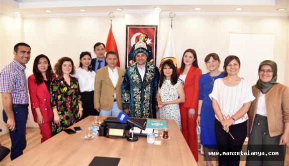 Hedefimiz 400 bin Kazak turist ağırlamak