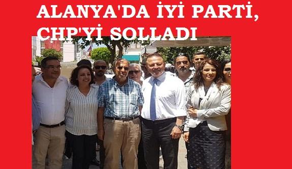 1 yıllık parti olan İYİ Parti Alanya'da CHP'yi solladı
