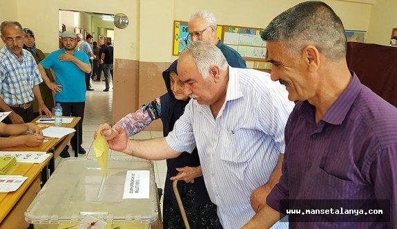 Alanya Milletvekilliği 2. sonuçlar