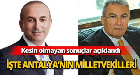 Antalya'nın yeni milletvekillerini tanıyalım. İşte ayrıntılar
