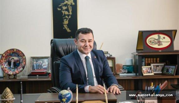 Başkan Yücel'den Alanya halkına mesaj
