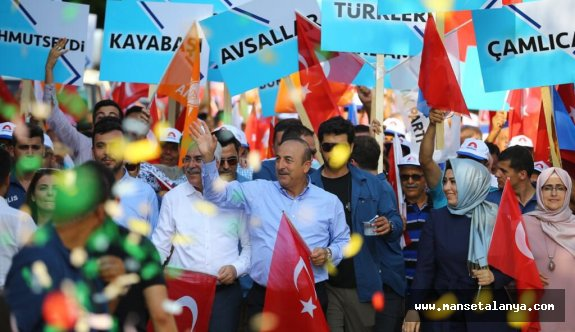 Çavuşoğlu, Alanya'dan isim vermeden, Süleymancılar cemaatini eleştirdi