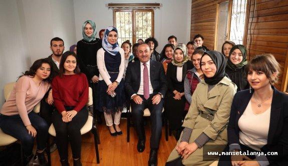 Çavuşoğlu 'Asala terör örgütüne inat olsun diye diplomat oldum'