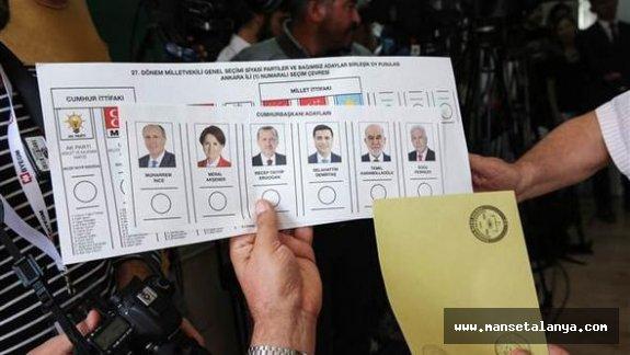 Gazipaşa Cumhurbaşkanlığı seçim sonuçları