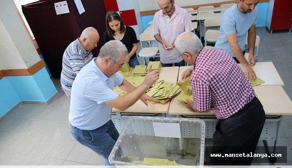 İşte Alanya ilk milletvekili sonuçları