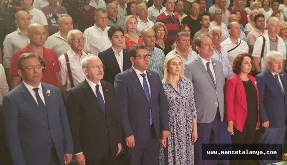 Kılıçdaroğlu Alanya'da konuştu