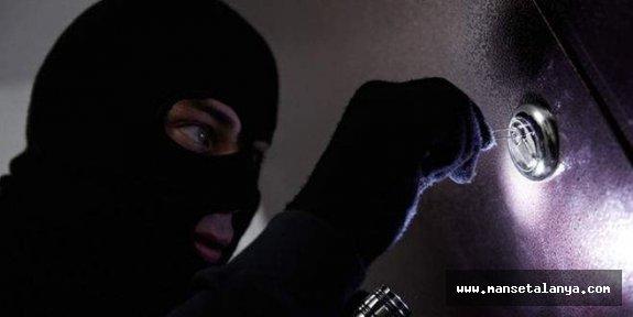 Alanya'da hırsızlık