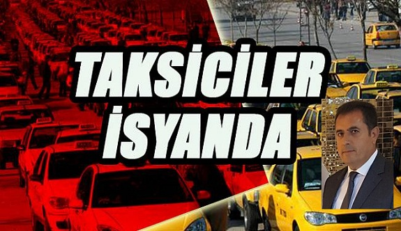 Alanyalı taksiciler isyanda