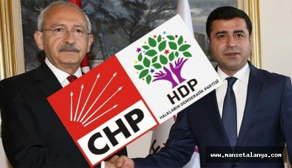 CHP Antalya'da kriz. HDP'ye desteklerinden dolayı istifa...!