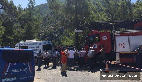 Gazipaşa'yı yasa boğan kaza
