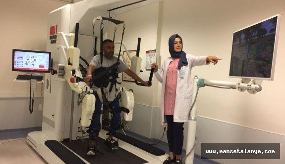 Robogait Cihazı Alanya'da 498 hastaya umut oldu