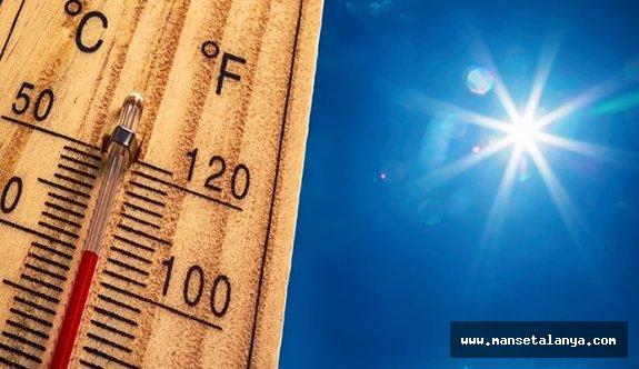Sıcaklıklar gittikçe artıyor