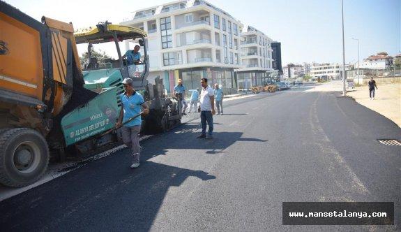 Alanya belediyesinden kesintisiz ulaşım çalışması