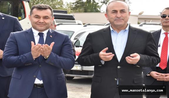 Çavuşoğlu: Alanya belediyesini istiyorum...!