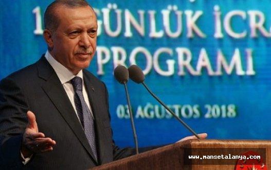 Cumhurbaşkanı Erdoğan 100 günlük planını açıkladı, turizm için ne dedi?