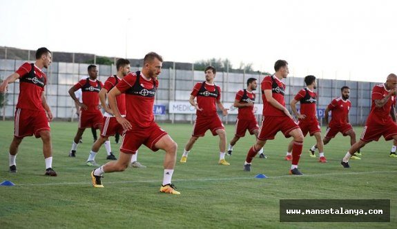 Sivasspor'da Alanyaspor maçı hazırlıkları