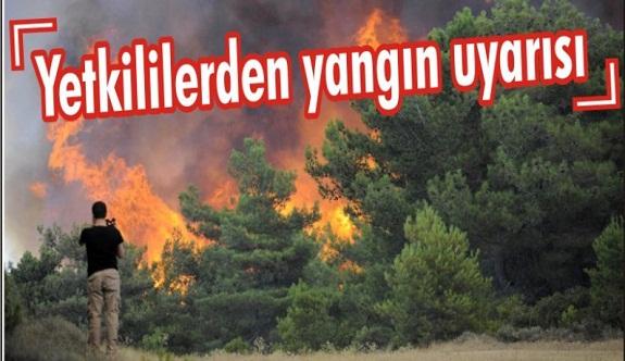 Alanya orman işletme şefliğinden önemli uyarı