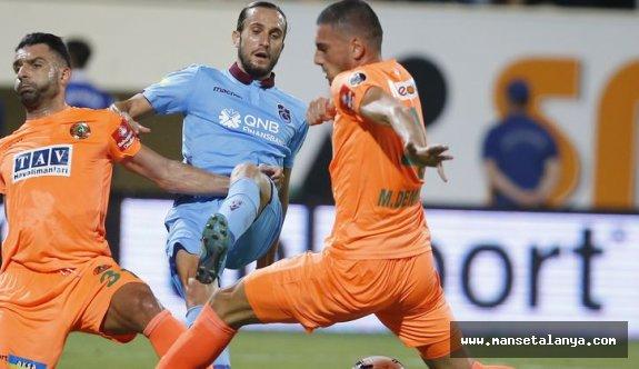 Alanyaspor - Trabzonspor maç sonucu: 1-0