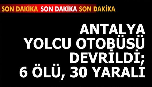 Antalya-Afyon karayolunda meydana geldi
