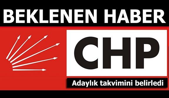 CHP'de aday olacakların beklediği haber