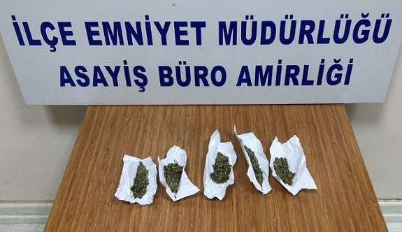 Sanayi'de uyuşturucu ele geçirildi