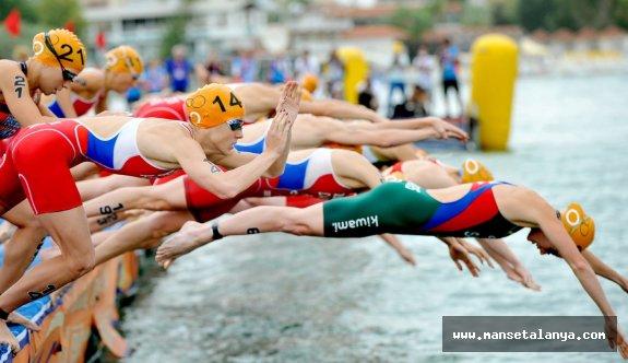 Sporun başkenti Alanya triatlon heyecanına hazır
