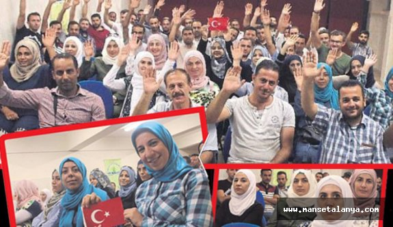 Suriyeli öğretmenler Antalya'da göreve başlıyor