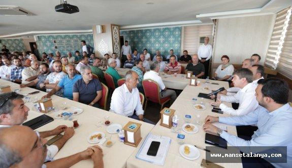 Türel: Alanya'daki ulaşım sorununu çözülecek