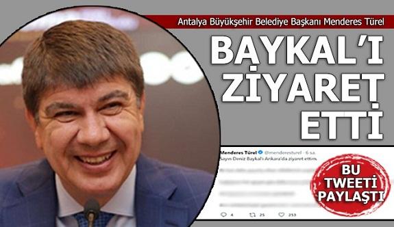 Türel, Baykal'ı Ankara'da ziyaret etti