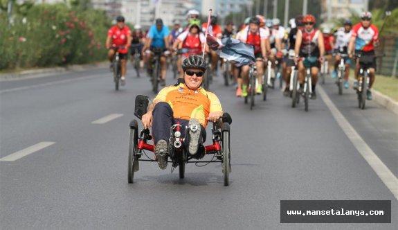 Alanya'nın bisiklet festivali başladı