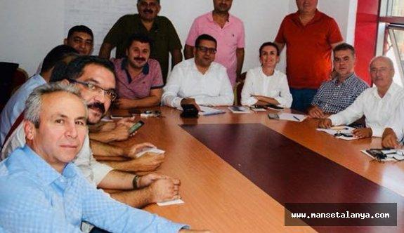 CHP Antalya ve ilçelerinde yapılan anketler...