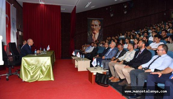 Emin Müftüoğlu'dan öğrencilere nasihat