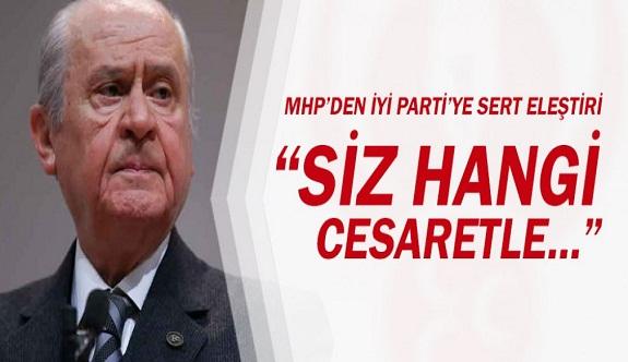 MHP lideri Bahçeli ateş püskürdü..