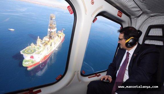 Alanya açıklarında petrol aramaya başladı