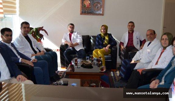 ALKÜ'ye Antalya'dan ziyaret