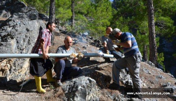 Dim Alacami Mahallesi'nin Su Sorunu Çözüldü