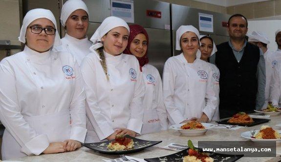 Geleceğin aşçıları Alanya'da yetişiyor