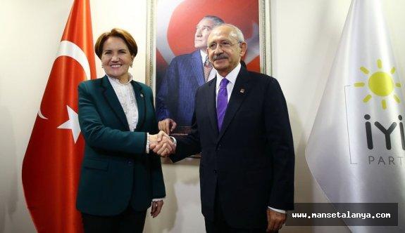 Kılıçdaroğlu ile Akşener buluştu. İki Parti birlikte mi hareket edecek sorusuna?