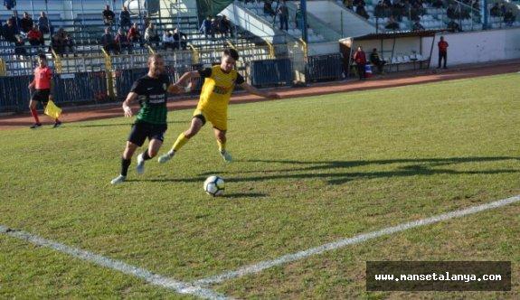 Korkuteli Belediye Spor, Payallarspor'u 1-0 Yendi