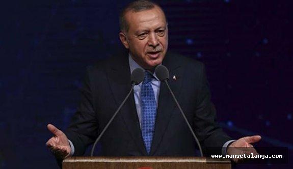 AK Parti'nin 'yerel seçim manifestosu' Başkan Erdoğan'a sunuldu