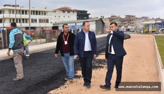 Alanya belediyesi asfaltta rekor kırdı