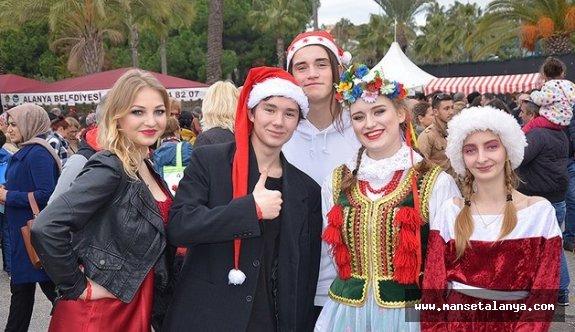 Alanya Uluslararası Noel Pazarı açılıyor